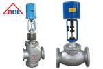 电动调节阀与管道结合的工作流量特性